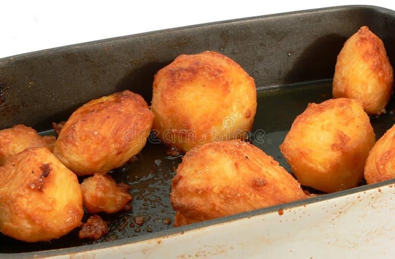 De aardappels van het braadstuk. royalty-vrije stock fotografie