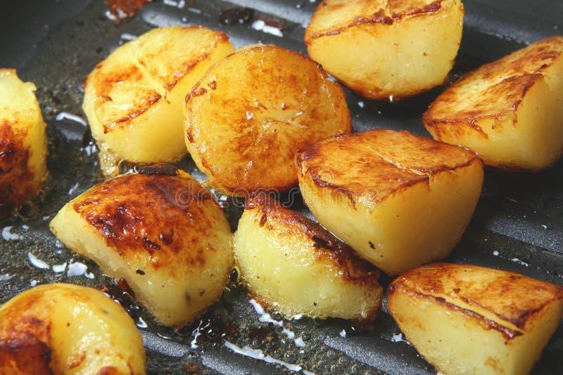 De Aardappels van Sauteed royalty-vrije stock foto