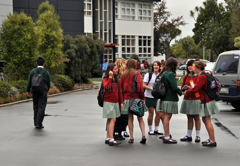 De Aardbeving van Christchurch - Burnside & Avonside stock fotografie