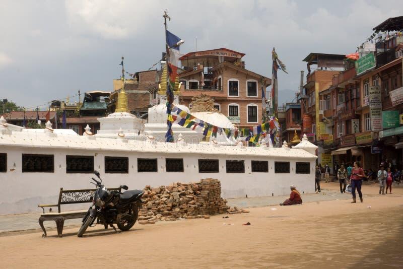 De aardbeving 2015 van Nepal Katmandu royalty-vrije stock afbeeldingen