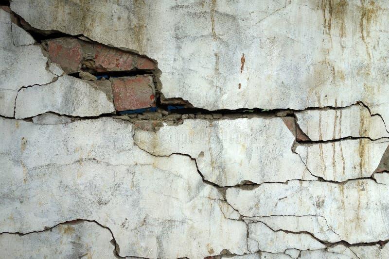 De aardbeving vernietigt royalty-vrije stock afbeeldingen
