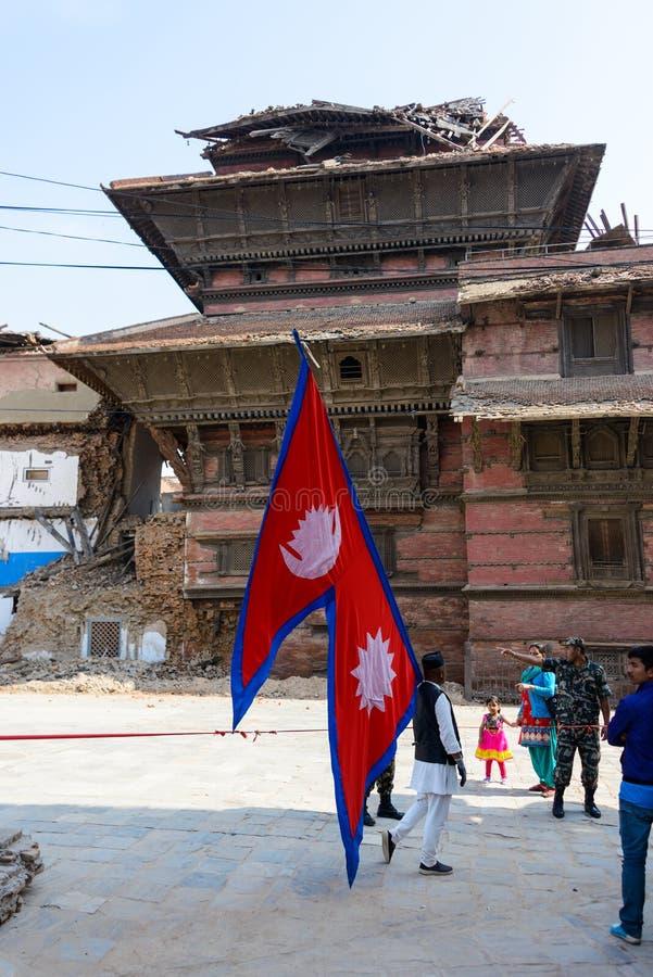 Download De aardbevingen van Nepal redactionele stock afbeelding. Afbeelding bestaande uit aardbeving - 54083179