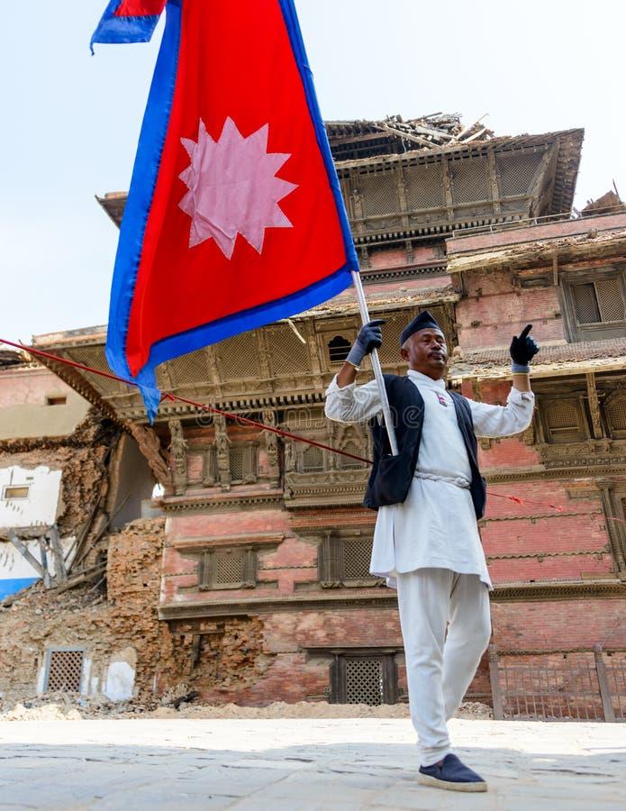 Download De aardbevingen van Nepal redactionele fotografie. Afbeelding bestaande uit richter - 54083277