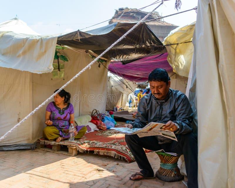 Download De aardbevingen van Nepal redactionele fotografie. Afbeelding bestaande uit vernietiging - 54083352