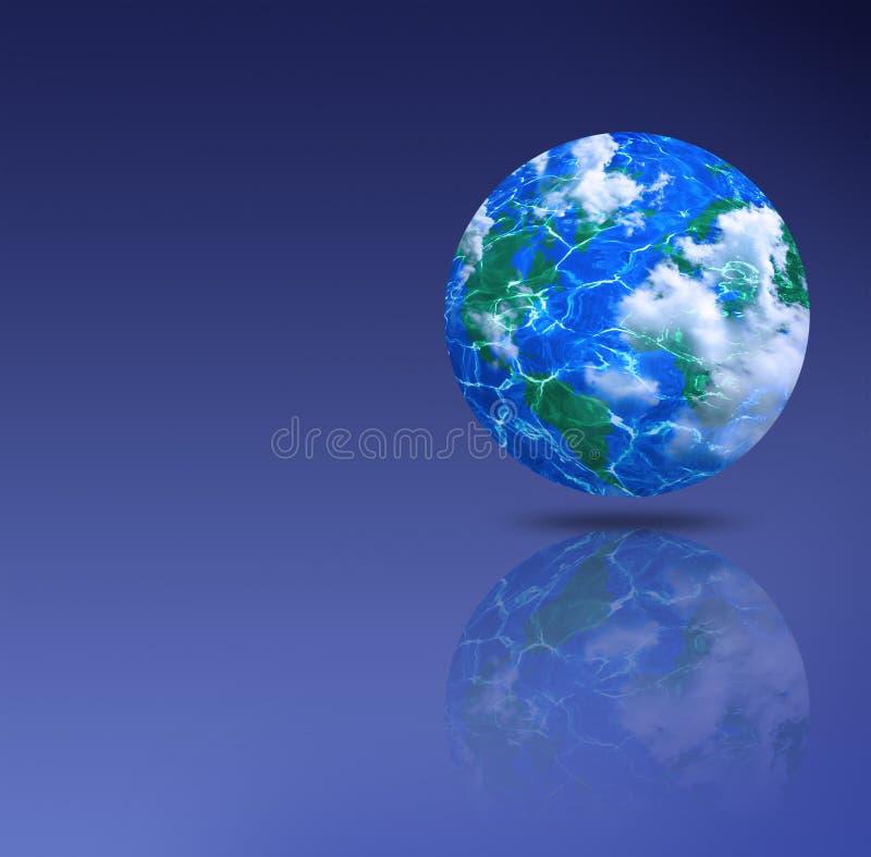 De aarde royalty-vrije illustratie