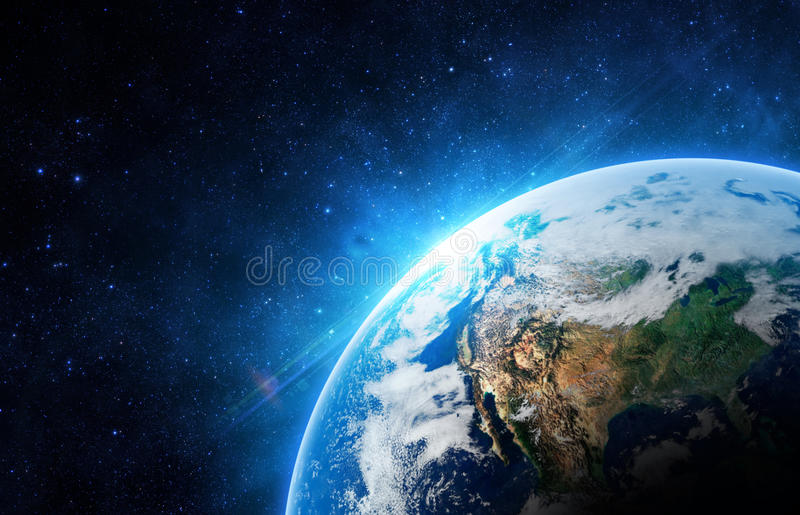 De aarde royalty-vrije stock foto