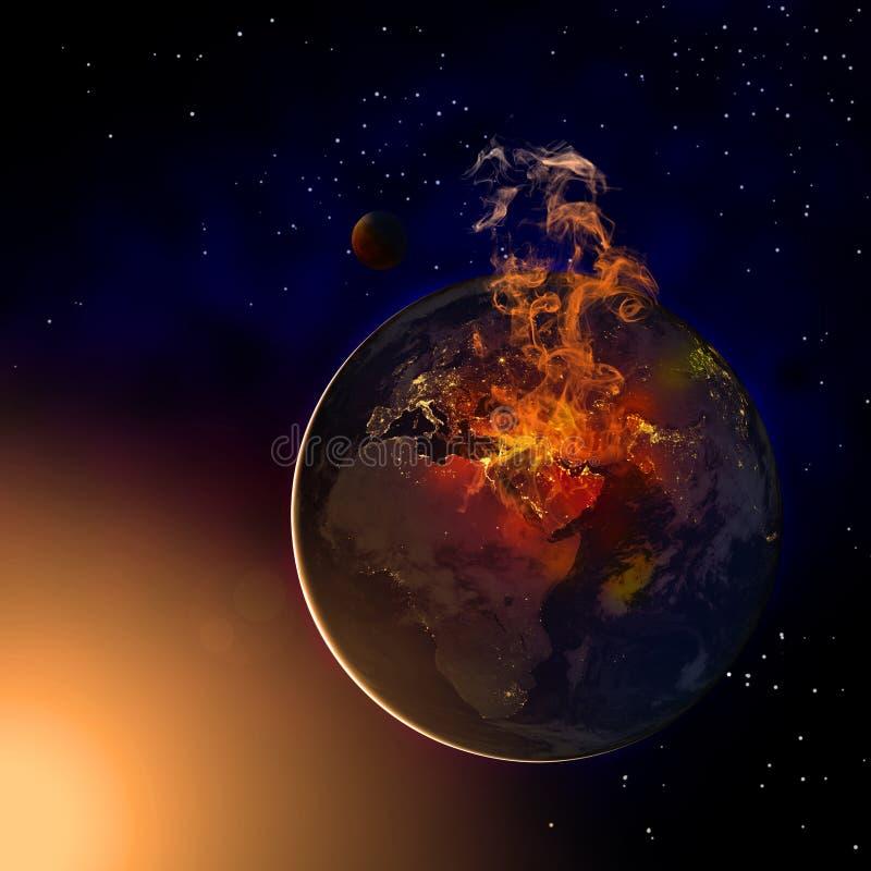 De aarde van het Midden-Oosten vector illustratie