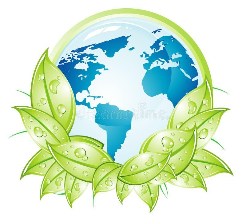 De Aarde van het milieu vector illustratie