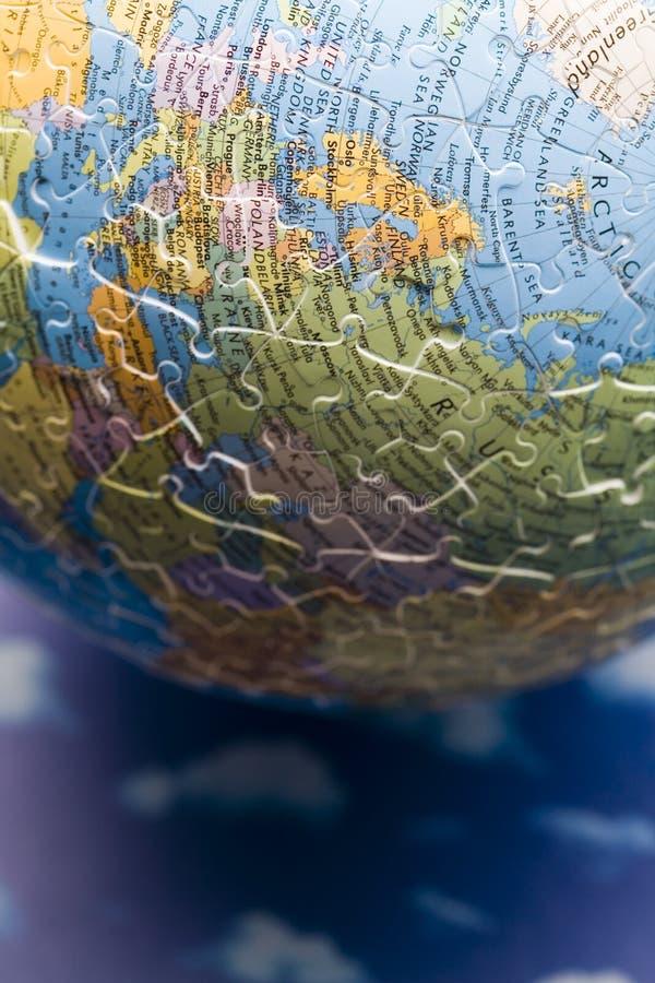 De aarde van het raadsel royalty-vrije stock afbeelding