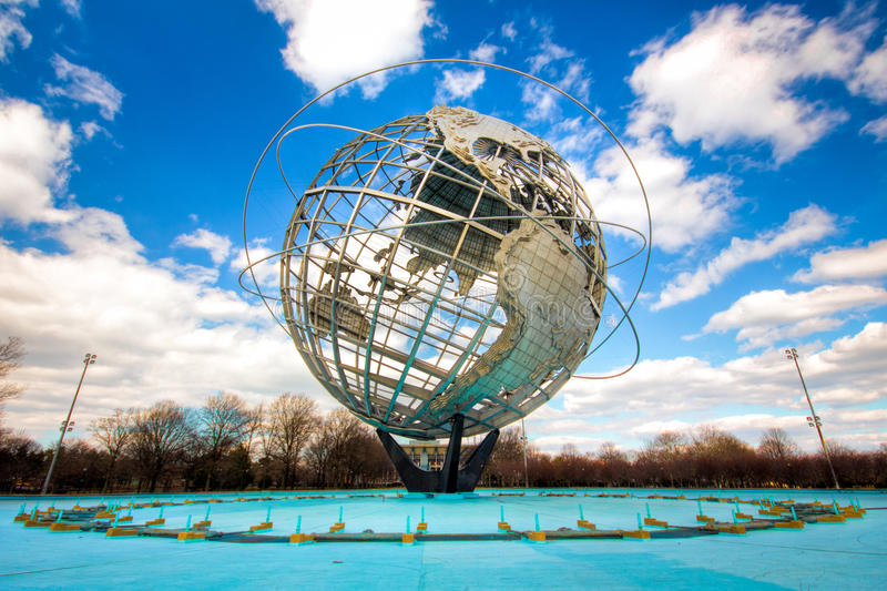 De Aarde van Unisphere royalty-vrije stock afbeeldingen