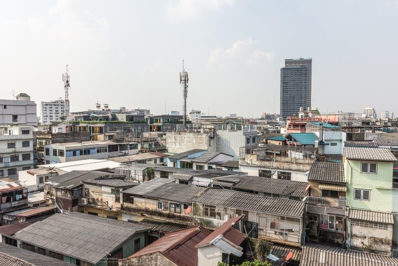 De aardige mening van hoofdstad is dichtheid door woonplaats stock afbeelding