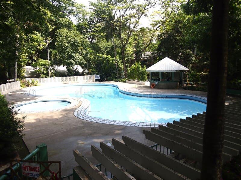 De aardpark van Hinulugangtaktak in Taktak-Road de Stad van Antipolo, Filippijnen stock afbeelding