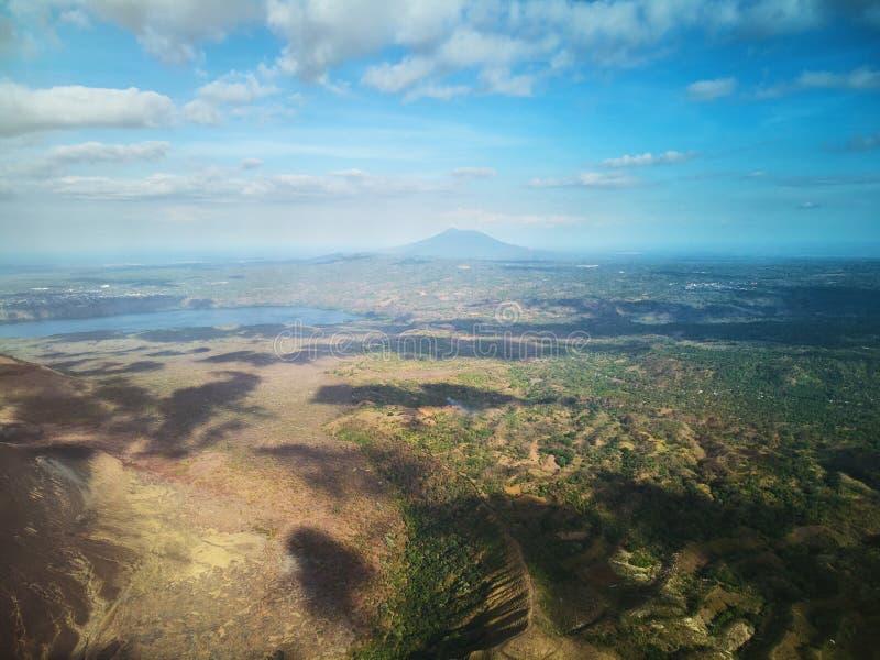 De aardthema van Nicaragua royalty-vrije stock foto