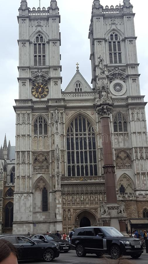De Abdij Londen van Westminster royalty-vrije stock afbeelding
