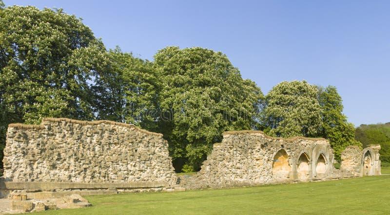 De abdij van Hailes stock fotografie