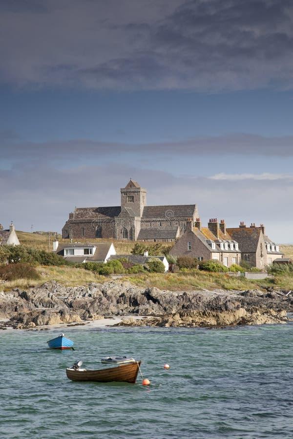 De Abdij van Iona; Schotland royalty-vrije stock afbeeldingen