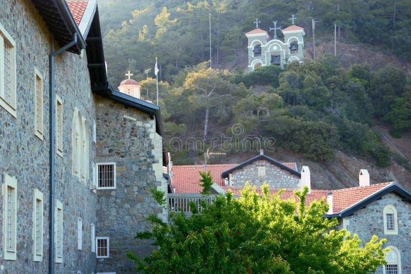 De abdij van Kykkos in Cyprus stock foto's