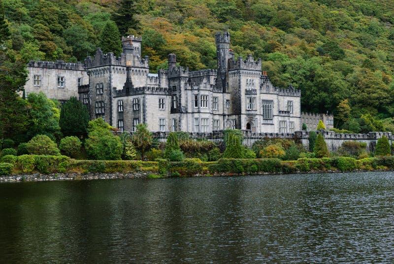 De Abdij van Kylemore, Provincie Galway, Ierland stock fotografie