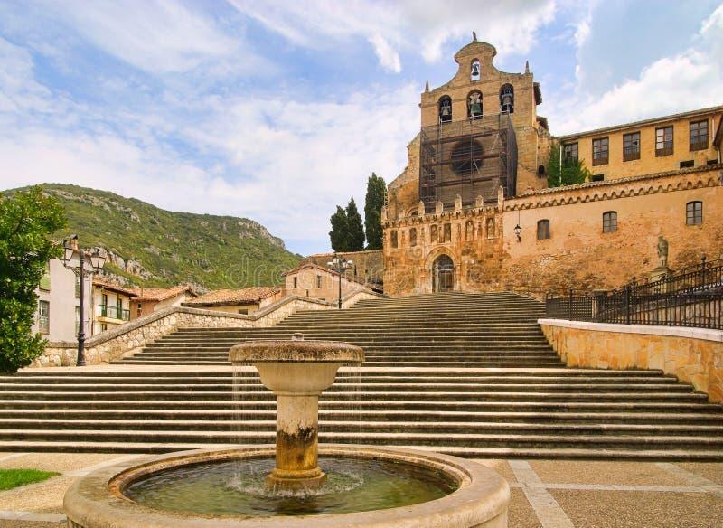 De abdij van Ona stock fotografie