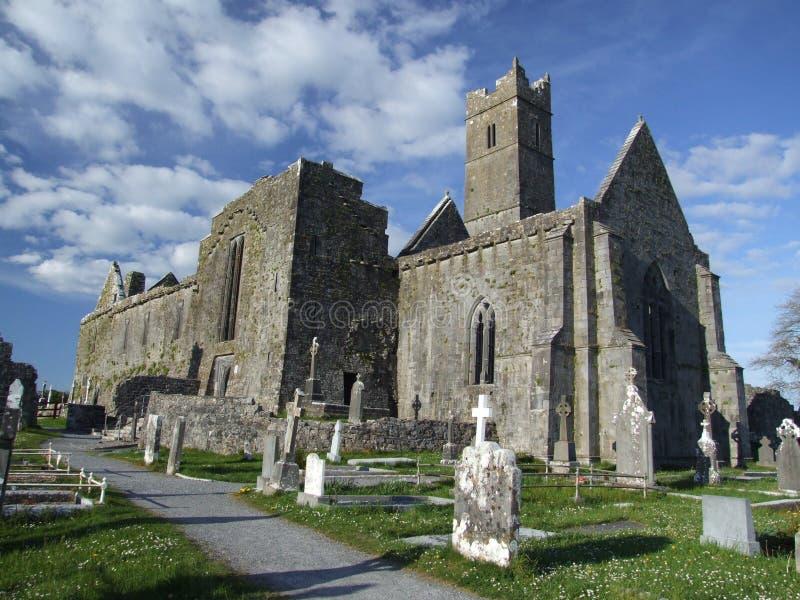 De abdij van Quin royalty-vrije stock afbeelding
