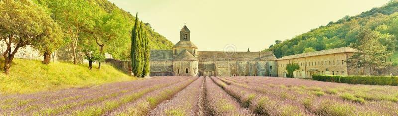 De Abdij van Senanque, Frankrijk stock foto