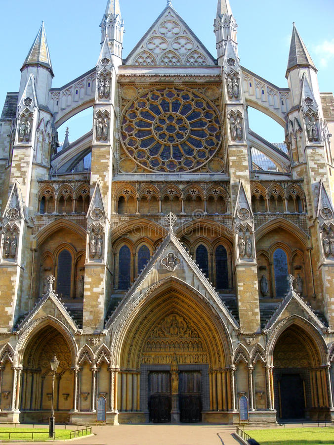 De Abdij van Westminster royalty-vrije stock fotografie