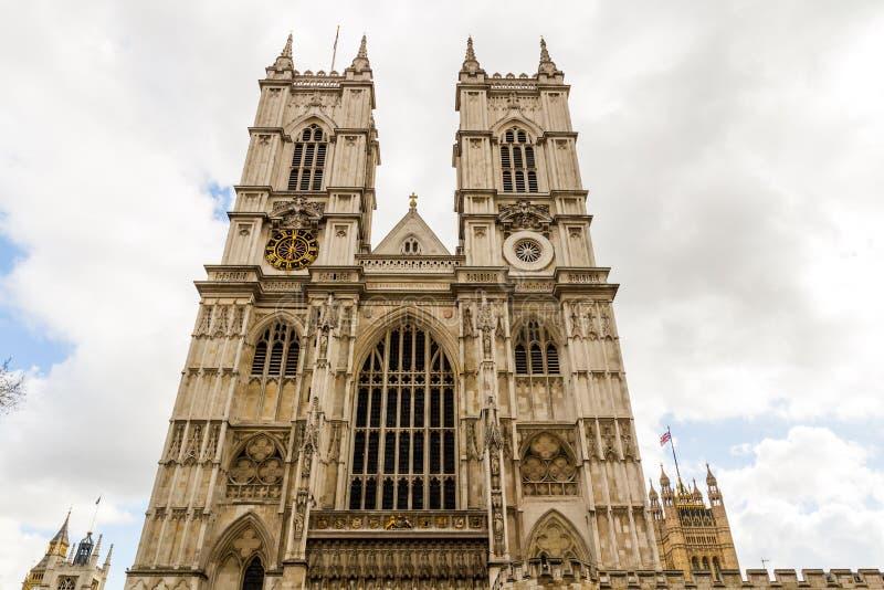 De Abdij van Westminster (de Collegiale Kerk van St Peter in Westmins stock fotografie