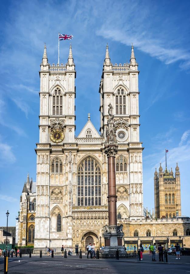 De Abdij van Westminster in Londen royalty-vrije stock afbeelding