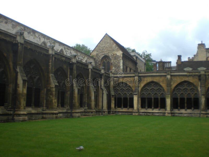 De Abdij van Westminster in Londen Engeland Europa stock afbeeldingen