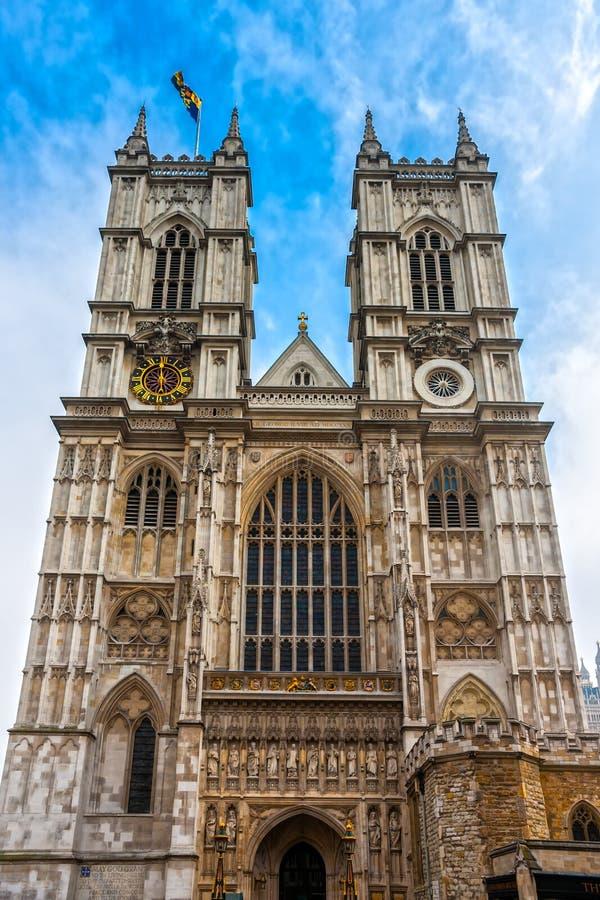 De Abdij van Westminster, Londen, het UK. royalty-vrije stock foto