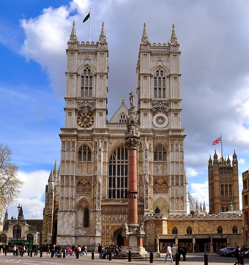 De Abdij van Westminster, Londen, het Verenigd Koninkrijk royalty-vrije stock afbeeldingen