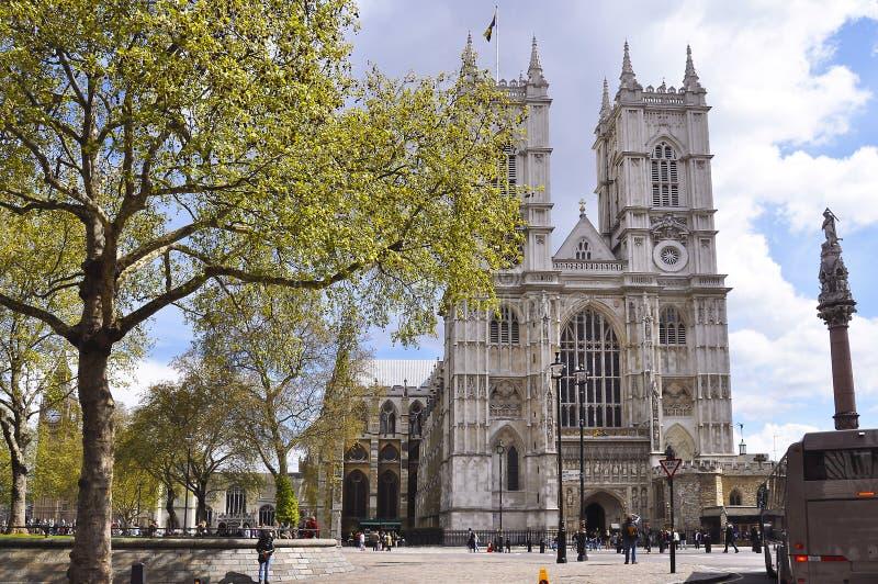 De Abdij van Westminster, Londen, Verenigd Koninkrijk van Groot-Brittannië en Noord-Ierland stock foto