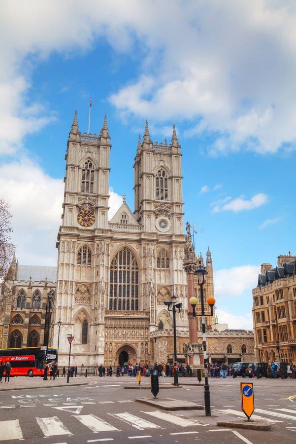 De Abdijkerk van Westminster in Londen royalty-vrije stock afbeelding