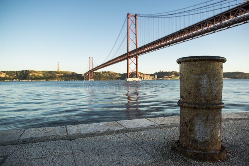 25, De, Abril, Bridge stock afbeeldingen