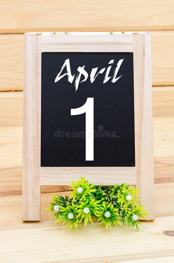 1 de abril el día del tonto fotos de archivo