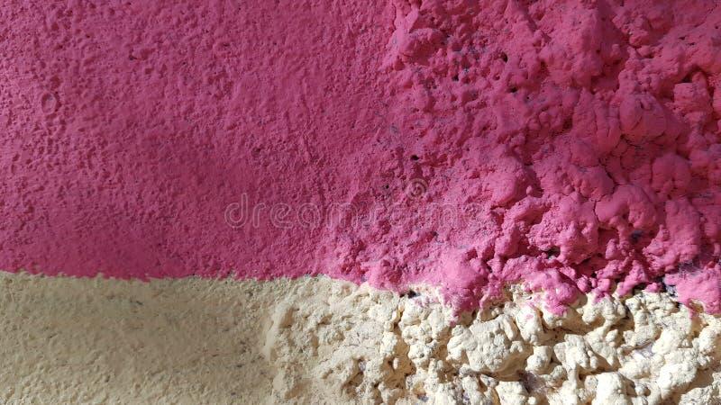 De abstracte achtergrond bestaat uit twee strepen in roze stock afbeeldingen