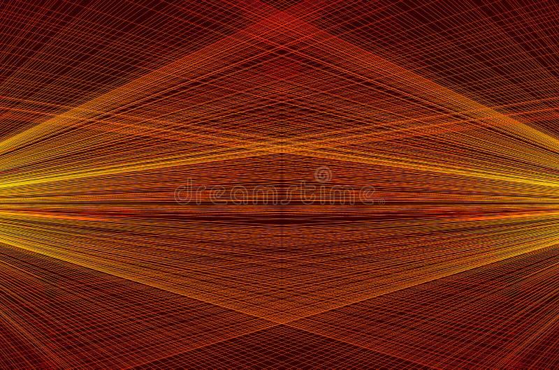 De abstracte achtergrond concentreerde gestreept patroon royalty-vrije illustratie