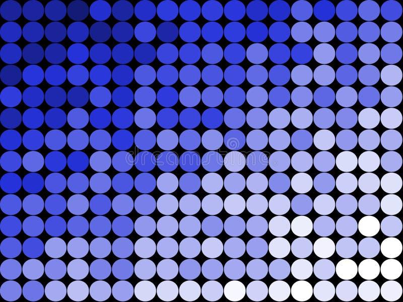 De abstracte Achtergrond Patte van Punten stock illustratie