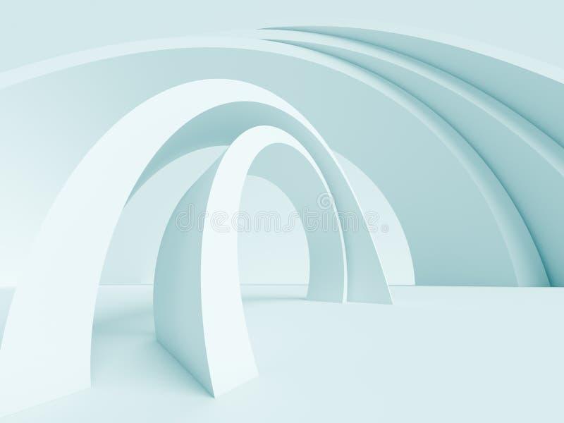 De abstracte Achtergrond van de Architectuur vector illustratie