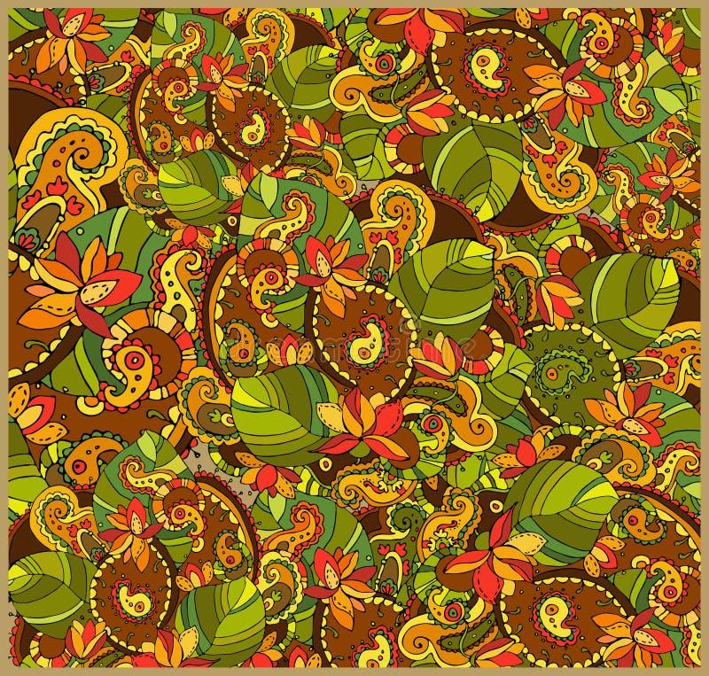 De abstracte Achtergrond van de Bloem vector illustratie