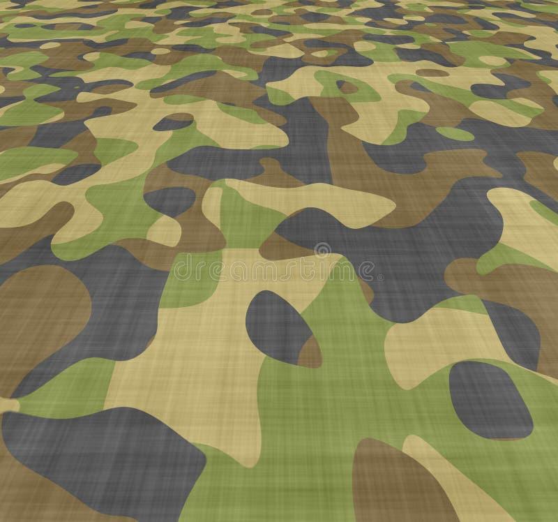 De abstracte achtergrond van de camouflage stock illustratie