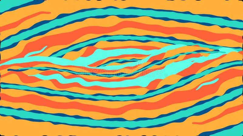 De abstracte achtergrond van de computerverf royalty-vrije illustratie
