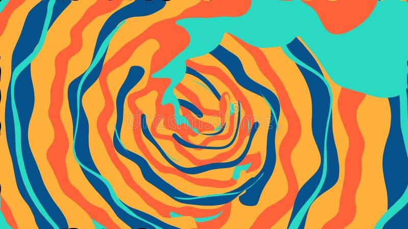 De abstracte achtergrond van de computerverf vector illustratie