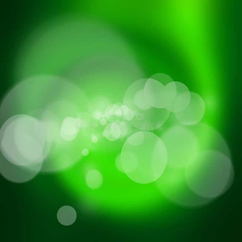 De abstracte achtergrond van de draaikolk groene aard stock fotografie