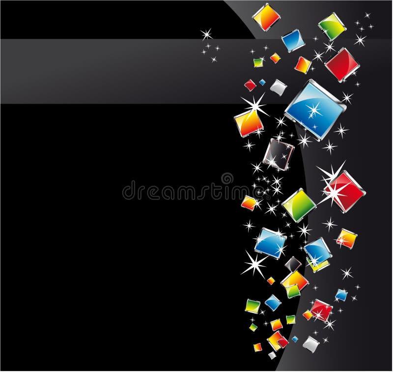 De abstracte Achtergrond van de Fantasie stock illustratie