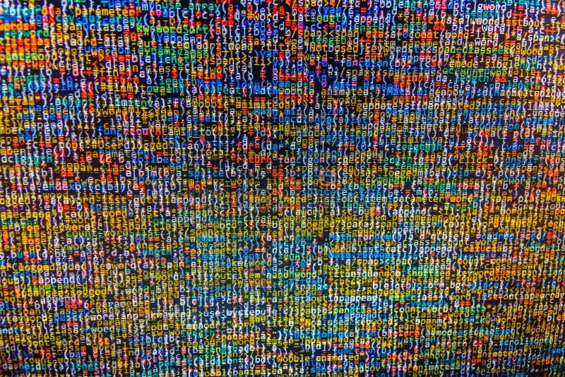 De abstracte achtergrond van de gegevensbitstroom royalty-vrije illustratie