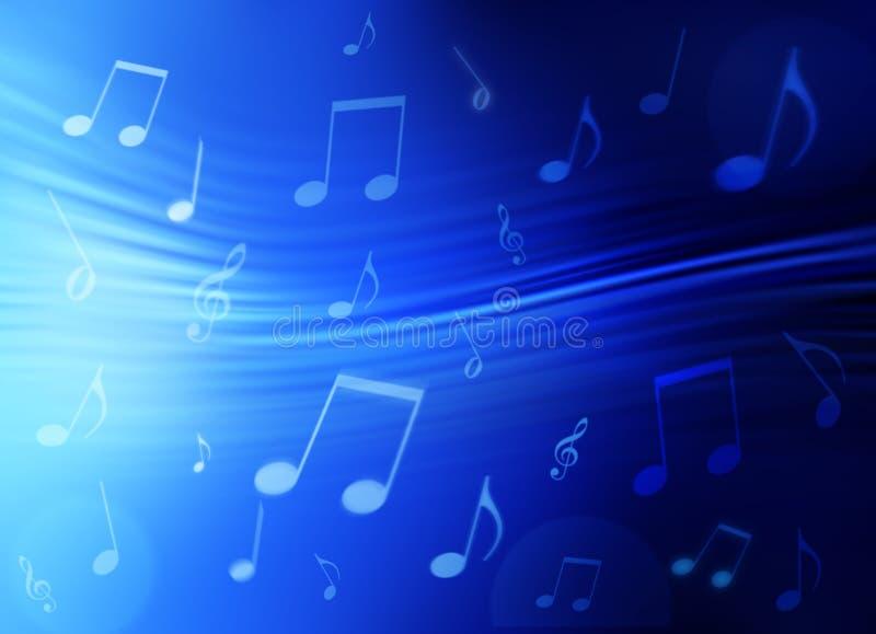 De Abstracte Achtergrond van de muziek stock afbeelding