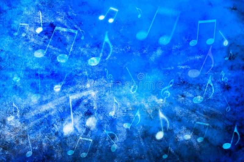 De abstracte Achtergrond van de Muziek royalty-vrije stock afbeeldingen
