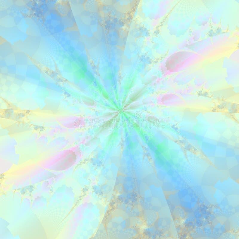 De Abstracte Achtergrond van de pastelkleur stock illustratie