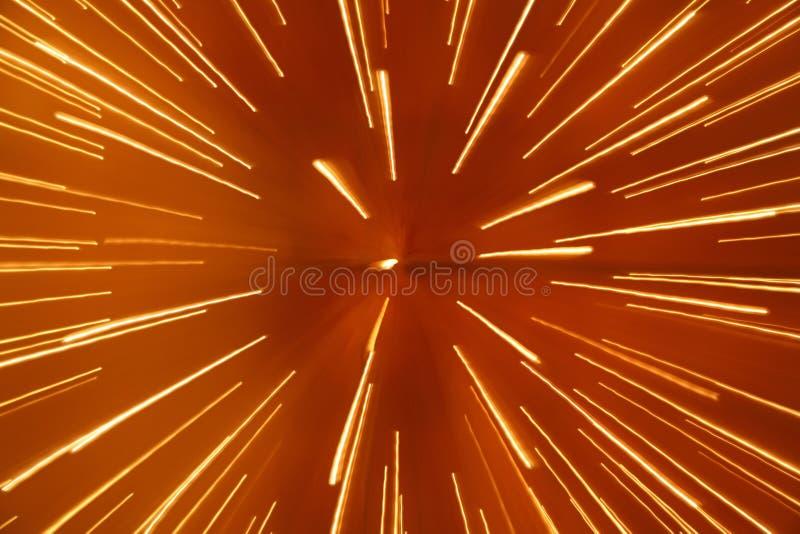 De abstracte achtergrond van de snelheid van licht royalty-vrije stock afbeelding